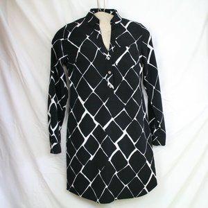The Limited Ashton Geometric Print Dress